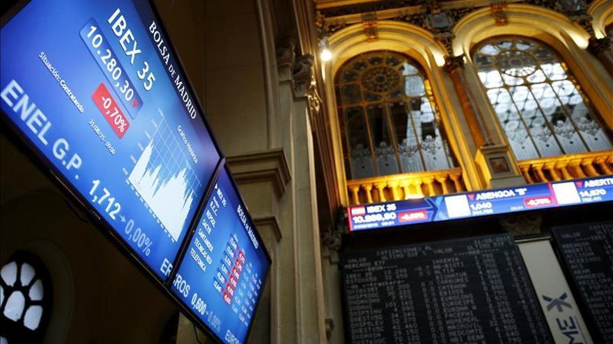 El IBEX cae el 1,28 % en la apertura por las nuevas dudas sobre la economía china