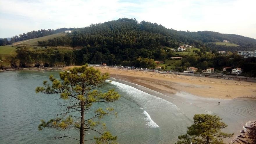 Las playas vizcaínas de La Arena, Barinatxe, Arriatera-Atxabiribil y Laida exhiben este sábado bandera roja
