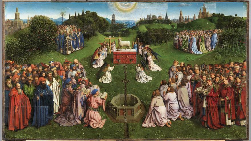 El Cordero Místico de Van Eyck
