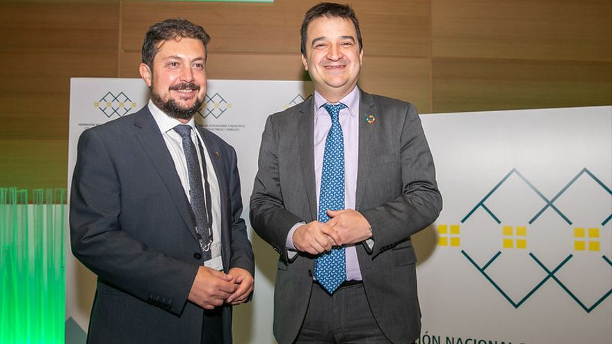 Francisco Pérez Torrecilla (a la izquierda) y Francisco Martínez Arroyo