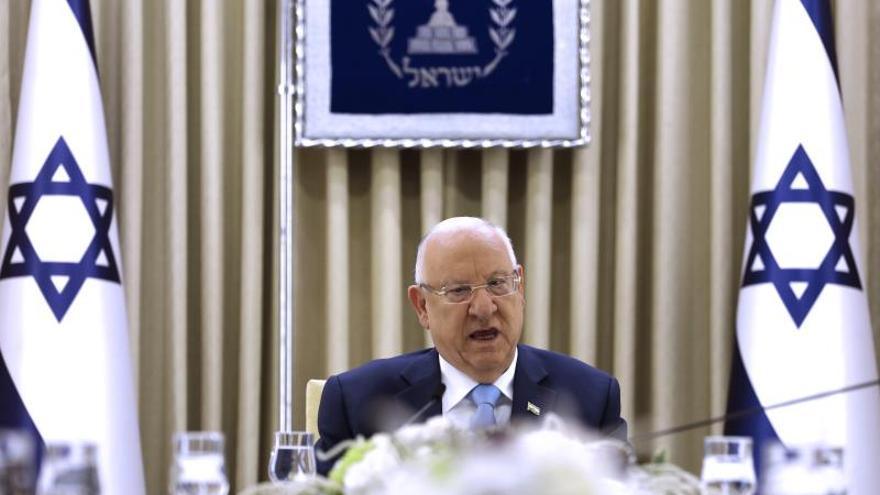 El presidente israelí, Reuven Rivlin.