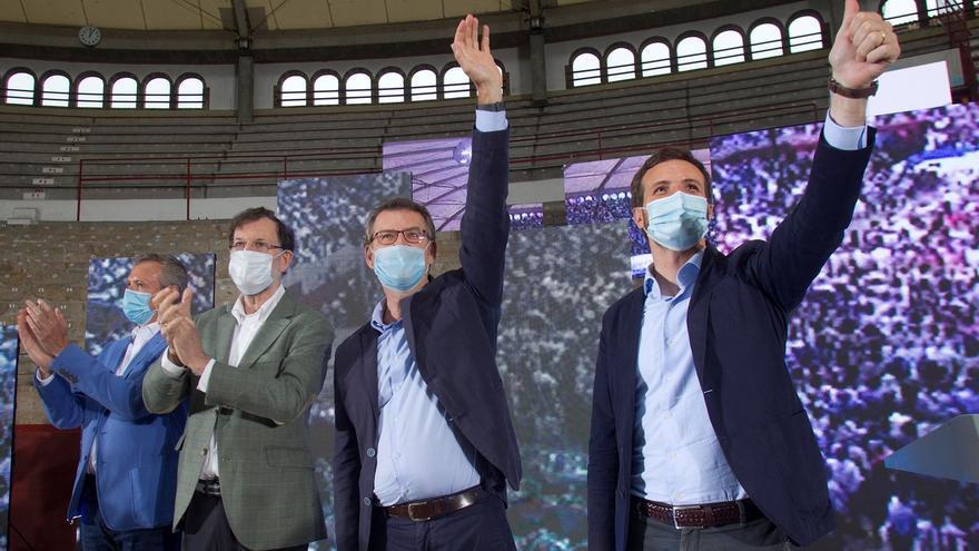El PP espera que Galicia vuelva a impulsar su paso hacia la Moncloa