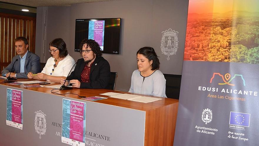 Un momento de la presentación del Impulsa Cultura Lab en Alicante