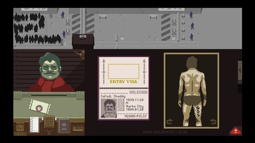 Papers, please - videojuego