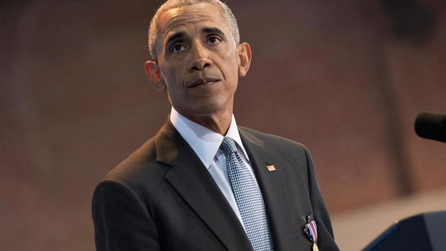 """La Biblioteca Kennedy otorga a Obama el premio """"Perfiles de Coraje"""""""