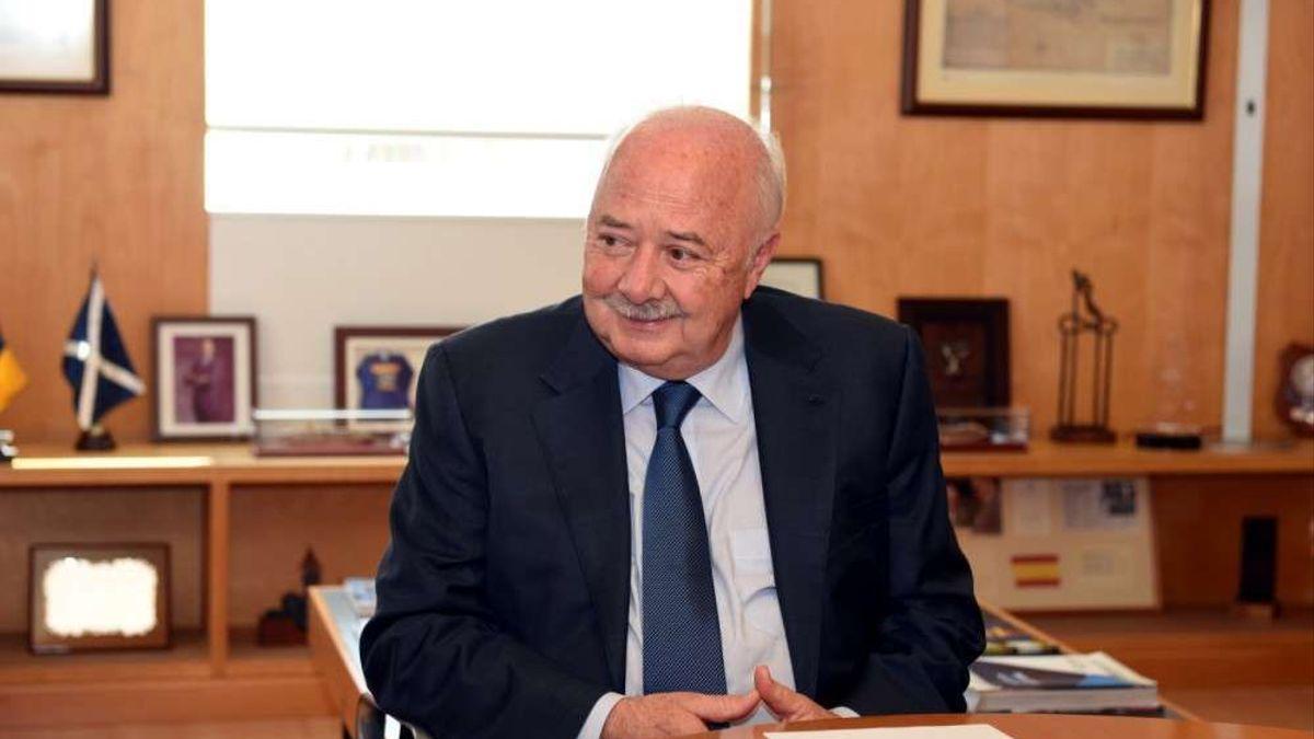 Ricardo Melchior, expresidente de la Autoridad Portuaria y del Cabildo de Tenerife