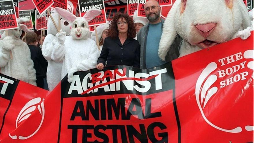 Campaña de The Body Shop contra el testado de cosméticos en animales