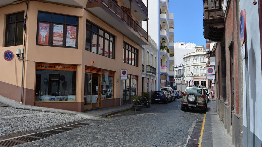 Calle Pérez de Brito.