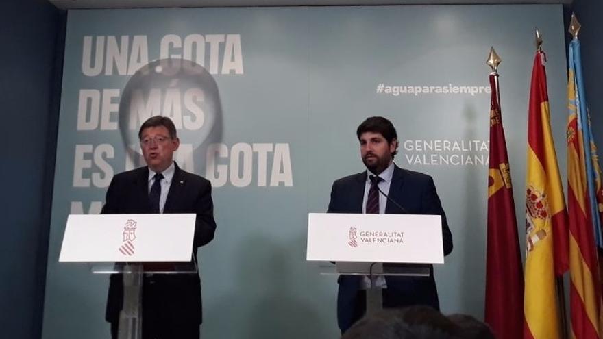 Comunidad Valenciana y Murcia unen fuerzas para pedir un nuevo modelo de financiación tras quedar a la cola del sistema