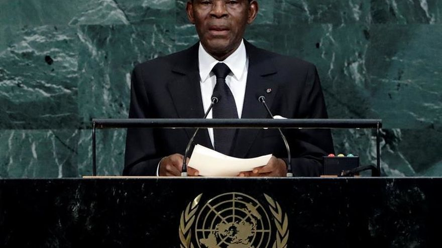 Obiang apoya la unidad de España
