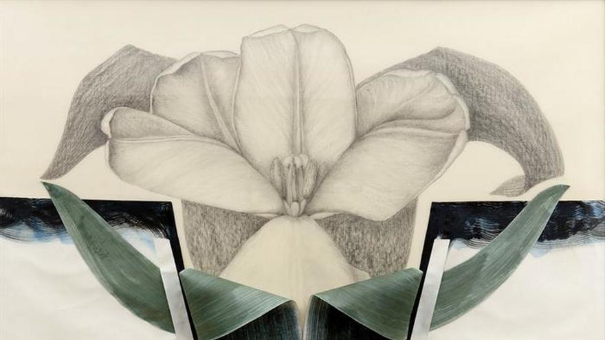 Marta Chirino expone en Madrid sus dibujos en el aire