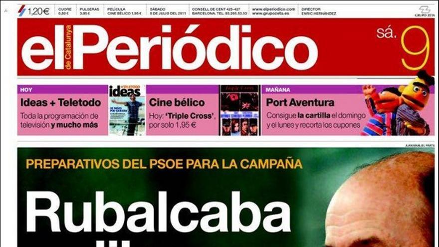 De las portadas del día (09/07/2011) #7