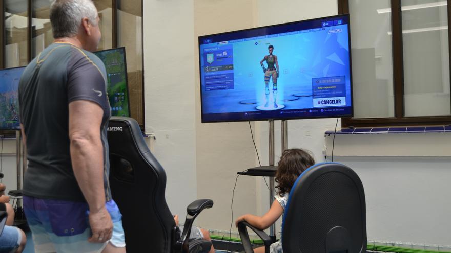 Fortnite para familias en el Polo Digital de Málaga | N.C.