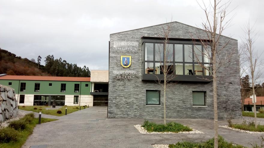 La residencia de ancianos de Mensajeros de la Paz en Valdáliga nace con 50 de sus 60 plazas concertadas por el Gobierno