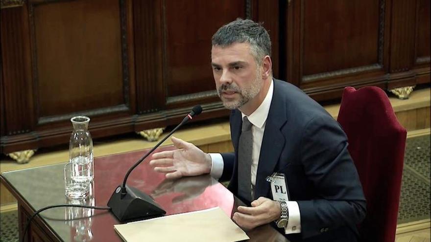 Diez frases del exconseller Santi Vila en el Supremo