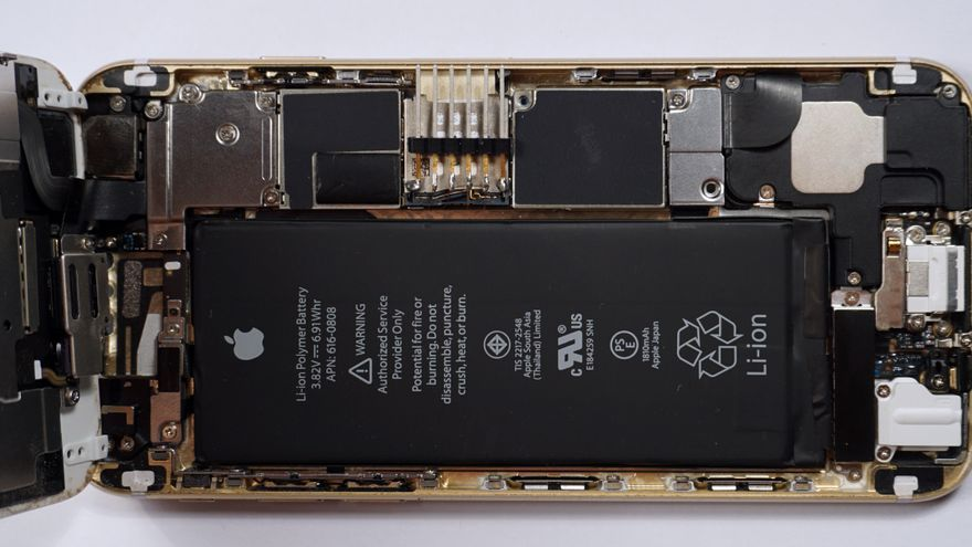 Uno de los iPhone con los que se probó el diseño