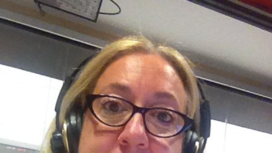 Maria José Sastre en una foto de su twitter