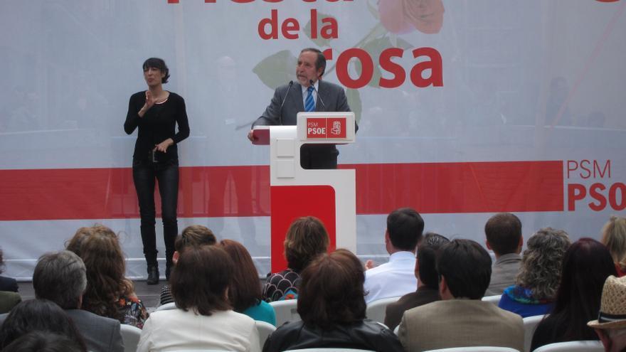 """Barranco dice que el PSOE """"es necesario para defender los derechos y la libertad de los trabajadores"""""""
