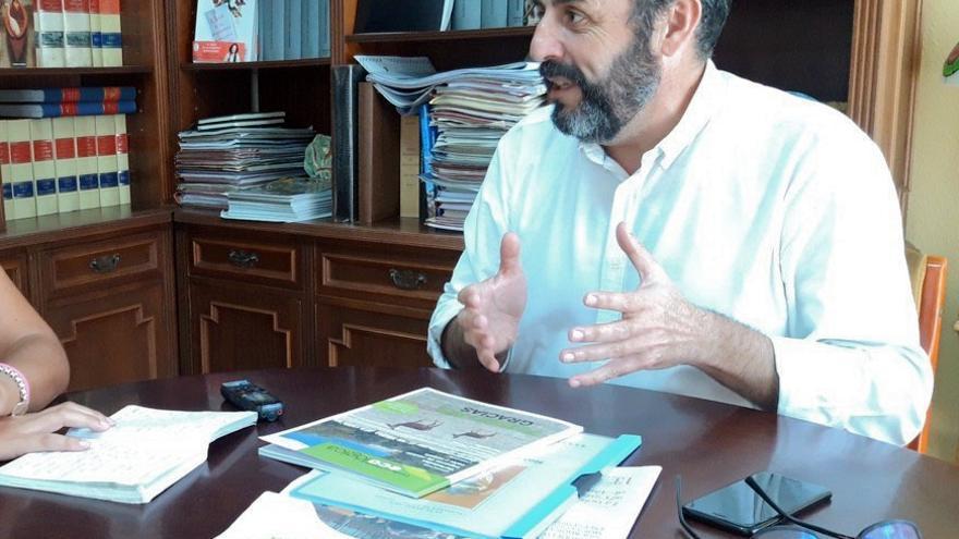 Entrevista con José Luis Blanco en el Ayuntamiento de Azuqueca de Henares