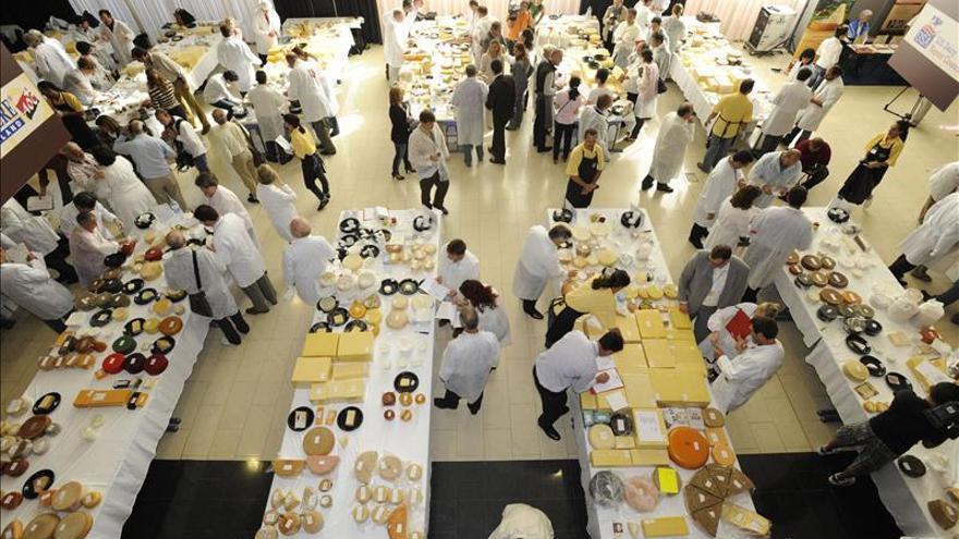 San Sebastián organizará en 2016 el premio de queso World Cheese Award