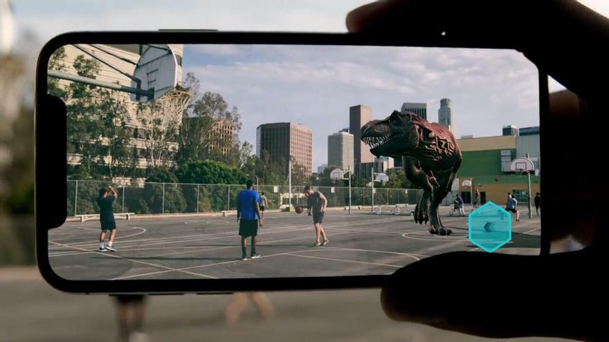 La realidad aumentada con ARKit que mostró Apple durante la presentación del iPhone X