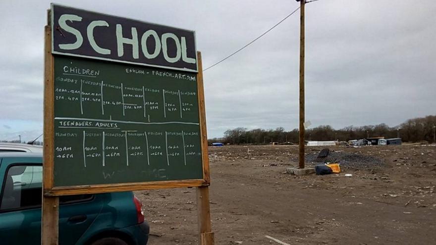 Escuela Laica de las Dunas, uno de los proyectos de la Jungla a los que los Campamentos Dignidad han destinado las donaciones monetarias recibidas