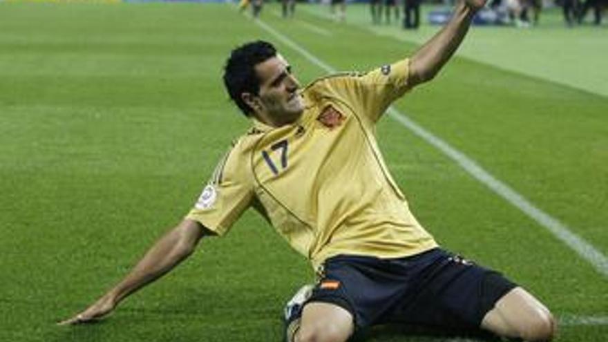 Güiza también queda descartado para el partido contra Bosnia
