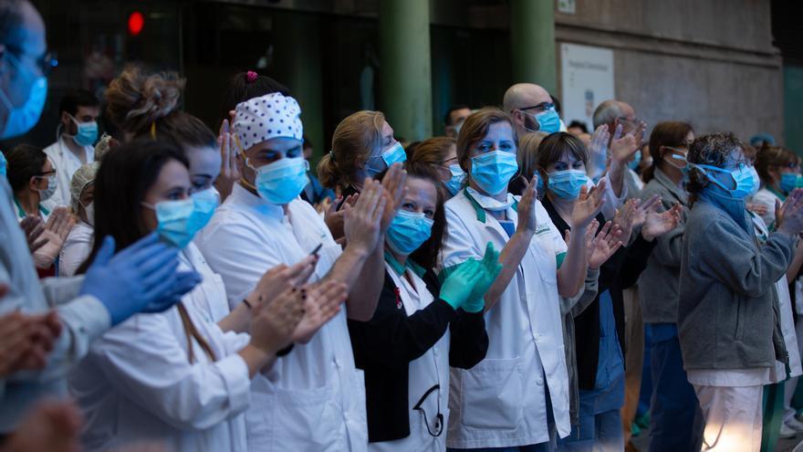 Profesionales del Hospital Clínic de Barcelona