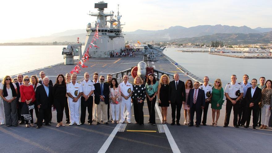 La visita del buque Juan Carlos I a Motril deja un retorno publicitario de 1,1 millones de euros