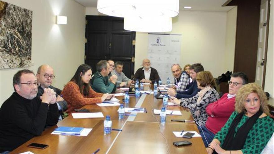 Reunión en Albacete por las nevadas