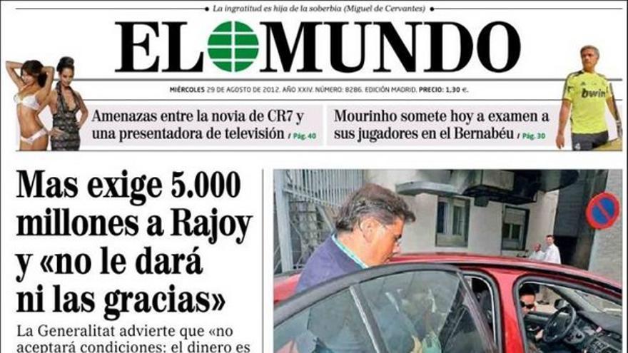 De las portadas del día (29/08/2012) #7