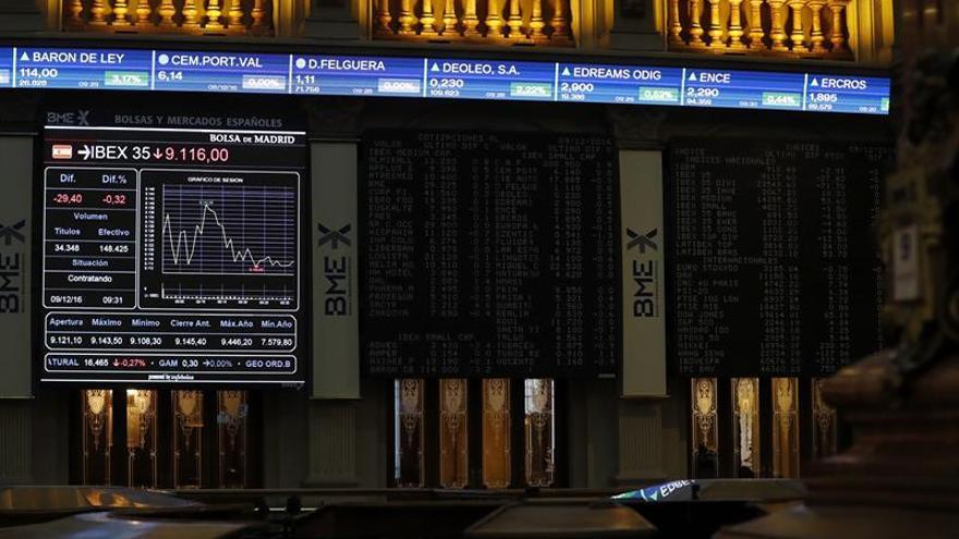 La Bolsa española se anota un 0,20 % minutos después de la apertura