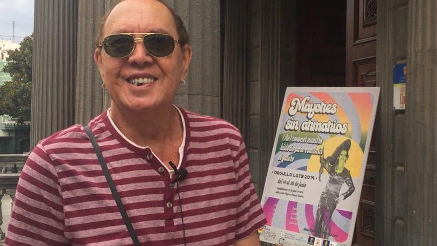 Manuel López, activista del colectivo LGTB encarcelado durante el franquismo.