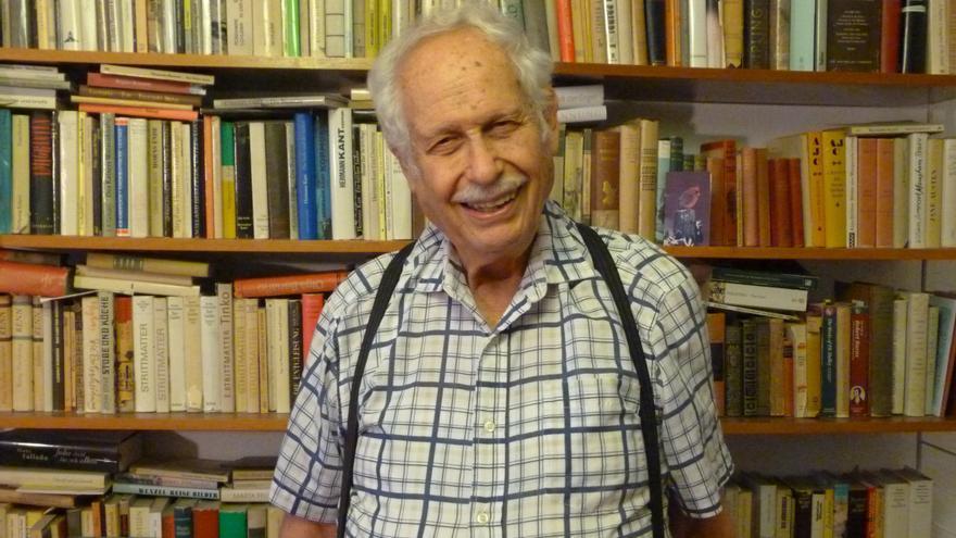Victor Grossman, periodista estadounidense que huyó a la RDA. / Ira Golenkova