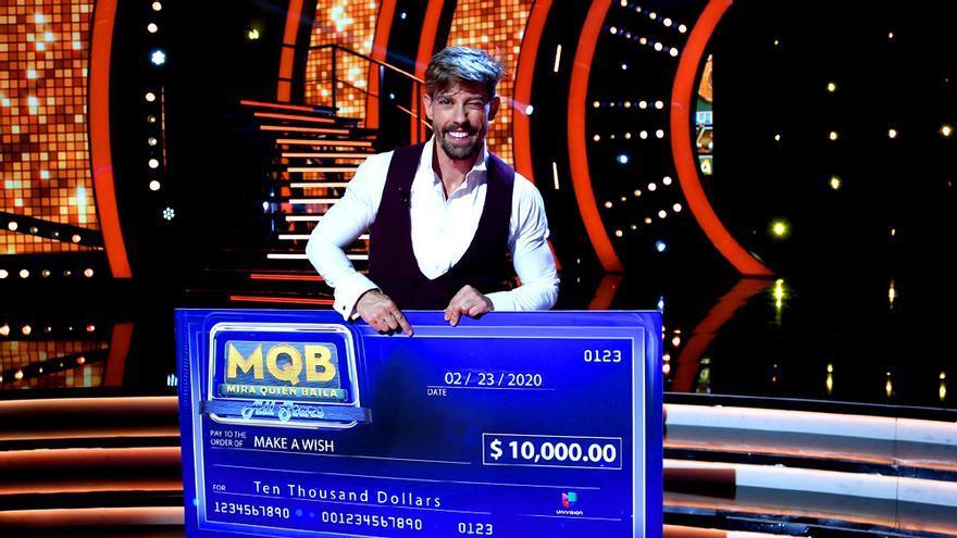 Adrián Lastra, tras quedar tercero en el MQB de Univisión