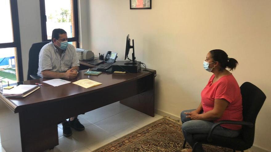 """El CRDOP Queso Palmero informa  al director del ICCA  sobre los problemas estructurales del colectivo para ejecutar """"diferentes líneas de trabajo"""""""