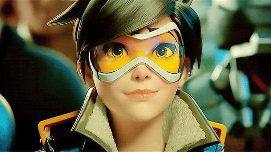 Lena 'Tracer' Oxton, de Overwatch