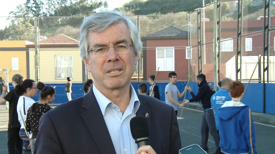 Álvaro Dávila, alcalde de Tacoronte.