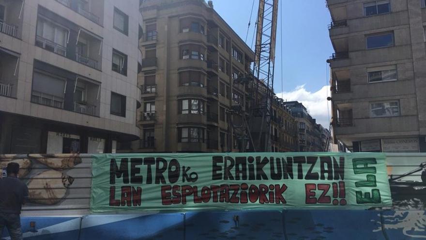 """ELA denuncia condiciones """"inhumanas"""" en las obras de ampliación del TOPO de San Sebastián"""