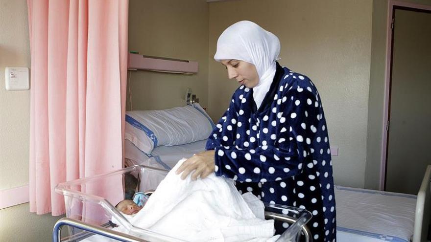 Melilla dobla la tasa de natalidad por los partos de extranjeras