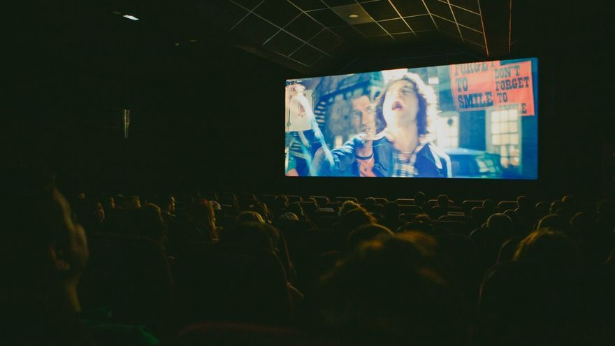 Proyección de la película 'Bohemian Rhapsody'.