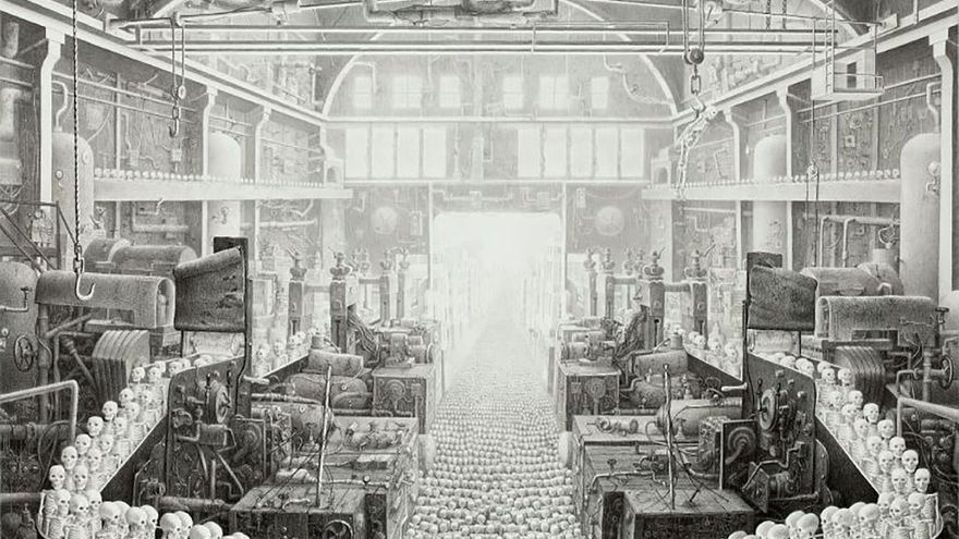 'La fábrica de la muerte', 2009.(www.laurielipton.com)