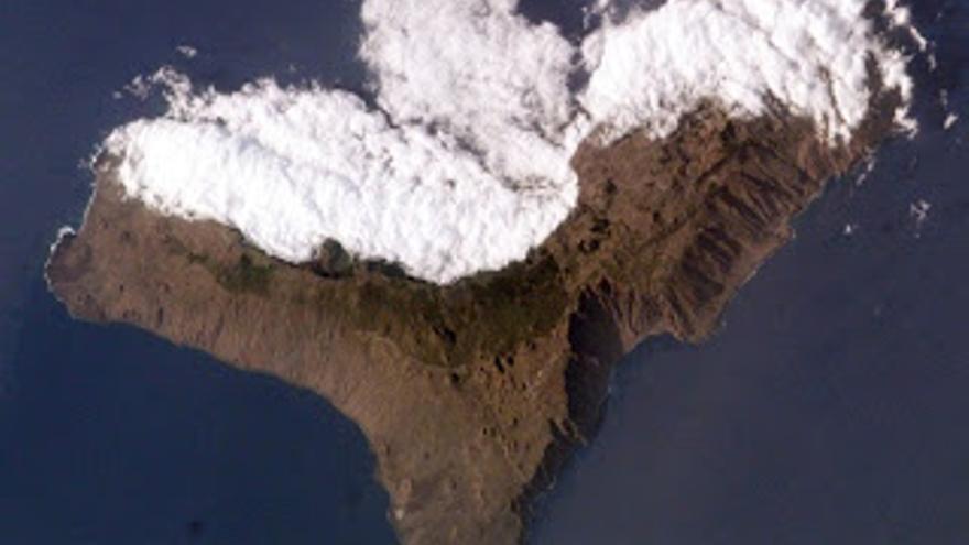Mar de nubes en El Hierro