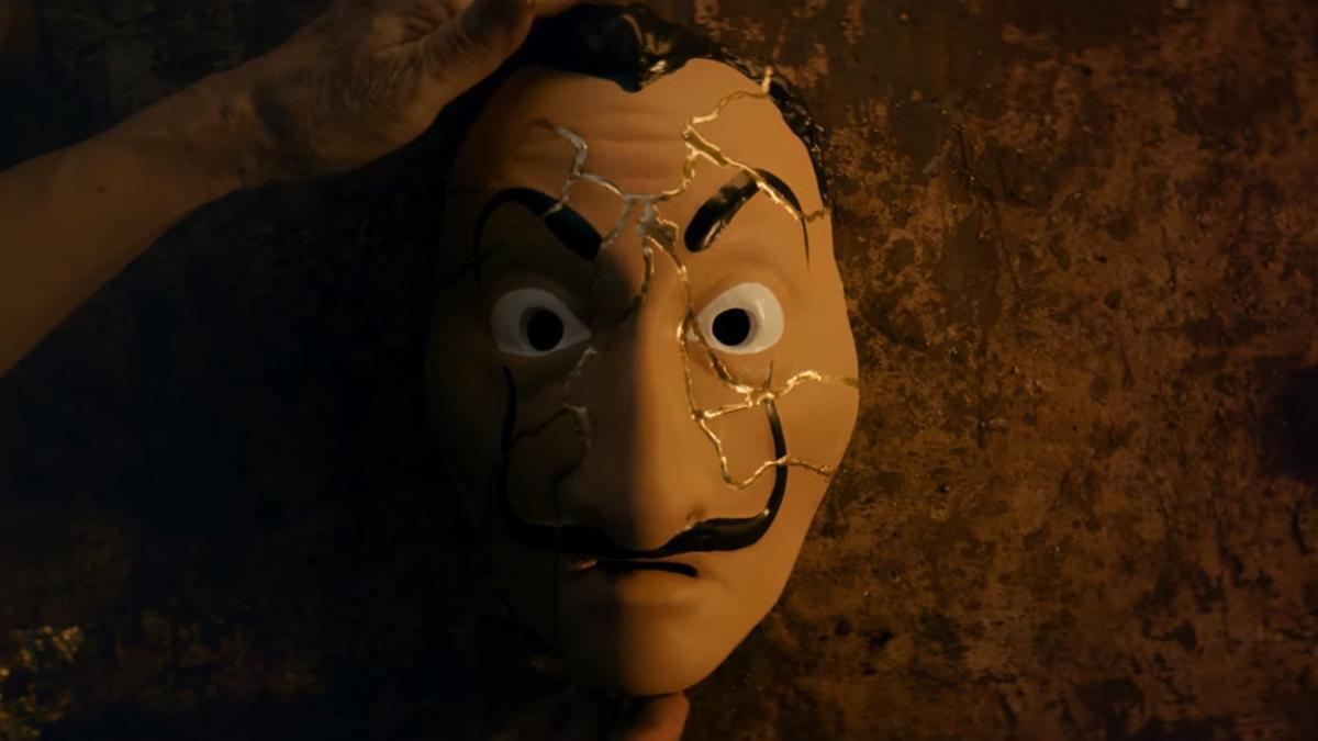 Escena del avance en vídeo de 'La casa de papel'