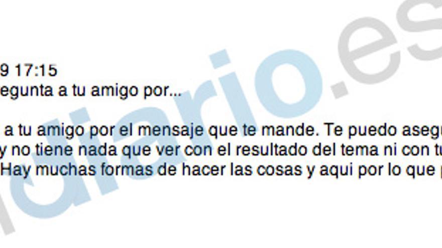 """El hijo de Aznar a Blesa: """"Existe dolor y decepción"""""""