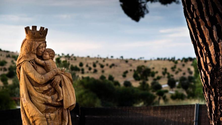 Imagen de la virgen de Valdebebas por la que el Ayuntamiento de Madrid pagó 40.000 euros.