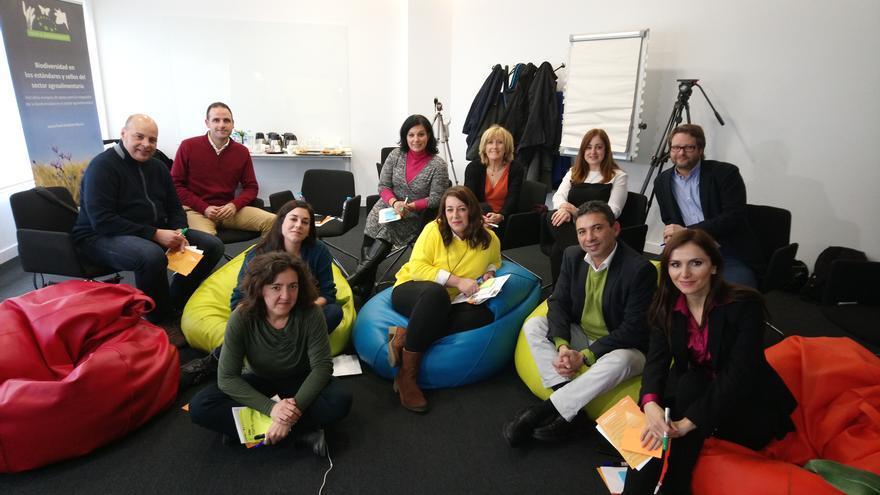 Participantes en el Think Tank organizado por la Fundación Global Nature
