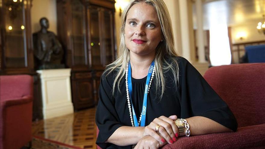 María del Mar Blanco dice que el PP es el único comprometido con las víctimas