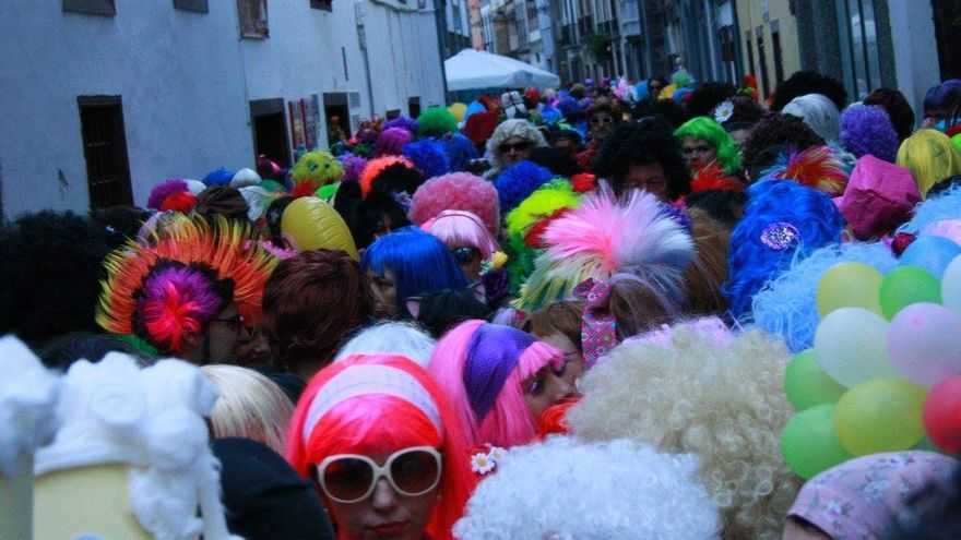 Imagen de archivo de la Fiesta de La Peluca.
