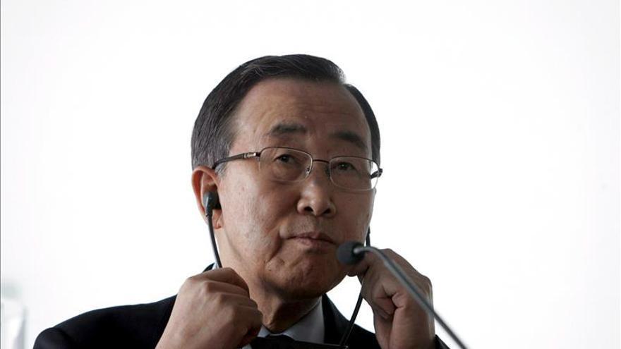 Ban alaba a Francia por movilizar a la comunidad internacional contra el EI